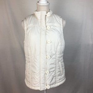 Sonoma White Puffer Vext